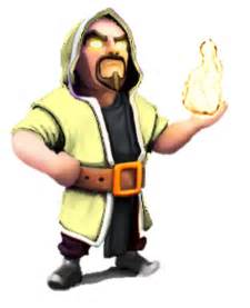 Clash of Clans Wizard Levels