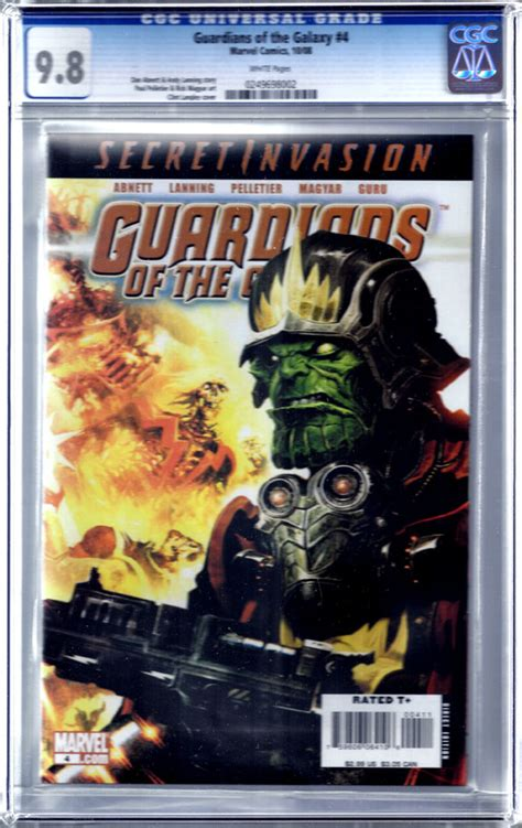 surreal comics and cards 187 guardians of the galaxy 4 cgc 9 8