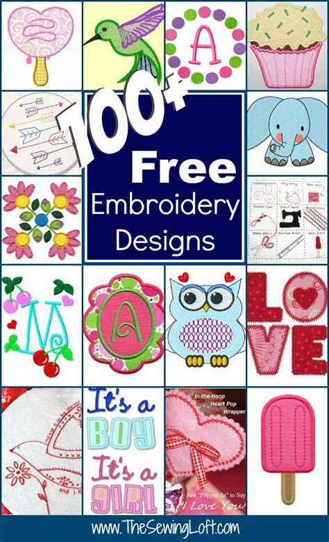 free embroidery designs 100 free embroidery designs the sewing loft