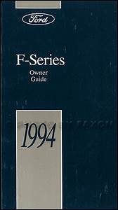 1994 Ford Repair Shop Manual F150