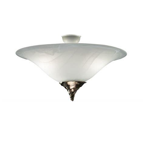 large ceiling ceiling light uplighter spiral semi flush marbled glass