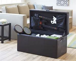 Slam brands introduces all in one storage solutions for for Game on storage ottoman