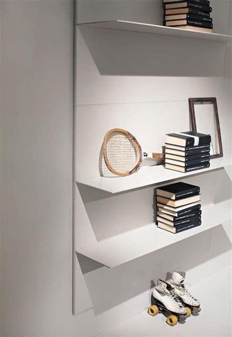 mensole alluminio mensole lineari per salotto e libreria in alluminio