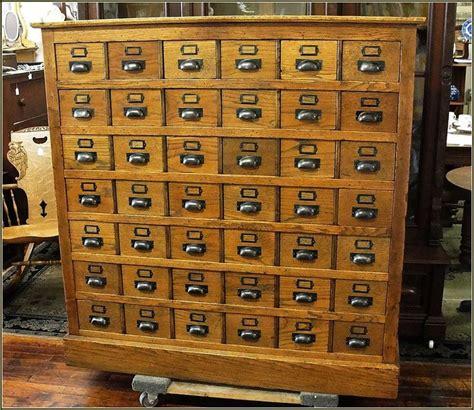 antique library card catalog cabinet home design ideas