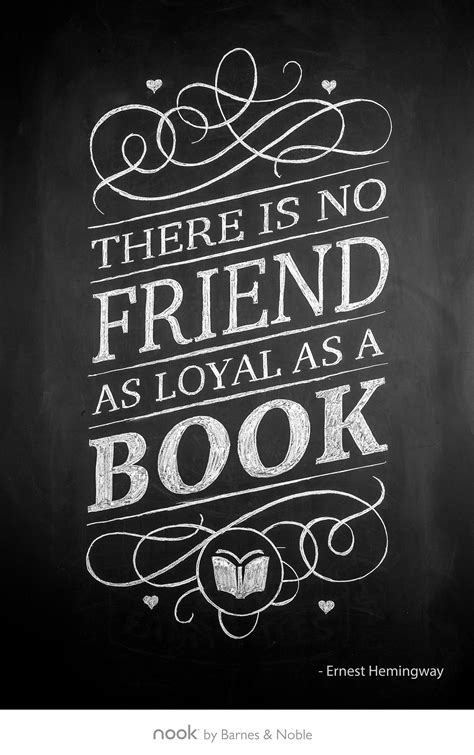 "January 29th: ""There is no friend as loyal as a book"