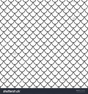 Seamless Vector Texture Fish Reptile Scales Stock Vector ...