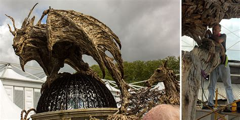 giant dragons    driftwood  james doran webb