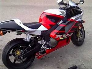 Rc51 With No Mufflers On