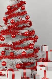 white tree with ornaments pictures photos and images for