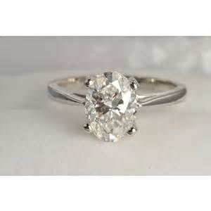 wedding dresses in ct 2 carat oval solitaire ring certified polyvore