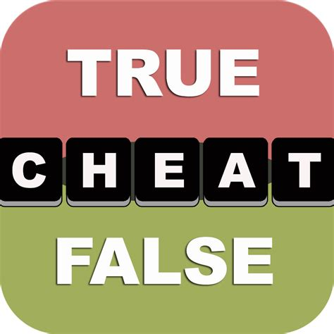 cheats for true or false test your wits by david kang