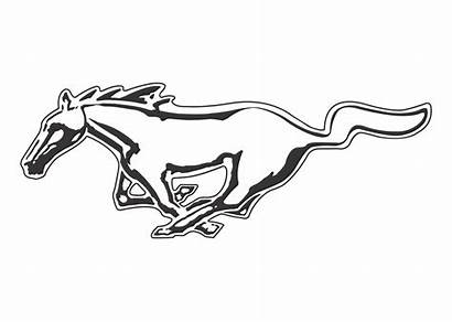 Mustang Ford Clipart 1080p Vector Wallpapers Transparent