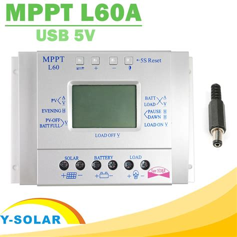 Mppt Solar Charge Controller Lcd Display