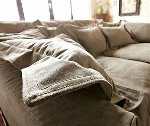 Big Sofa 240 Breit : bigsofa noelia braun 240x145 cm mit kissen hussensofa ~ Markanthonyermac.com Haus und Dekorationen