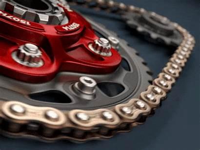 Chain Animated Links Gifs Bike Gold Led