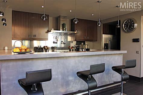 photo cuisine ouverte cuisine americaine design