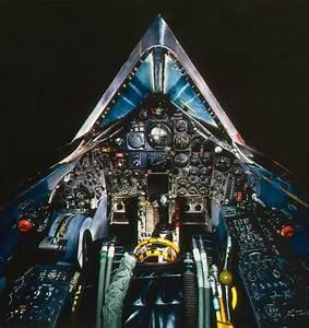 Cockpit Of The Lockheed Sr
