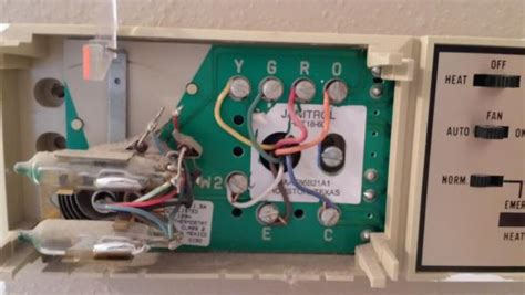 replacing a goodman janitrol hpt 18 60 thermostat page 2
