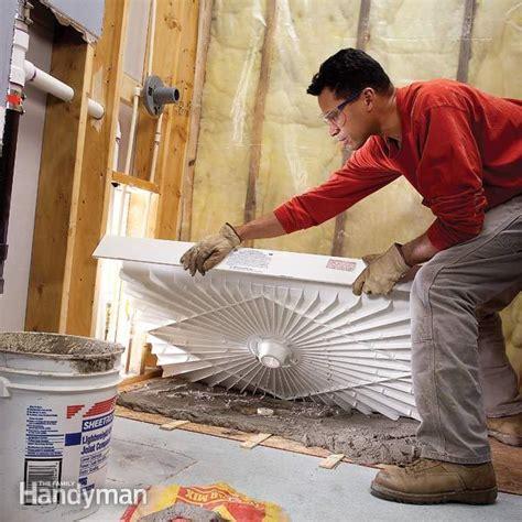 fit  shower tray  family handyman