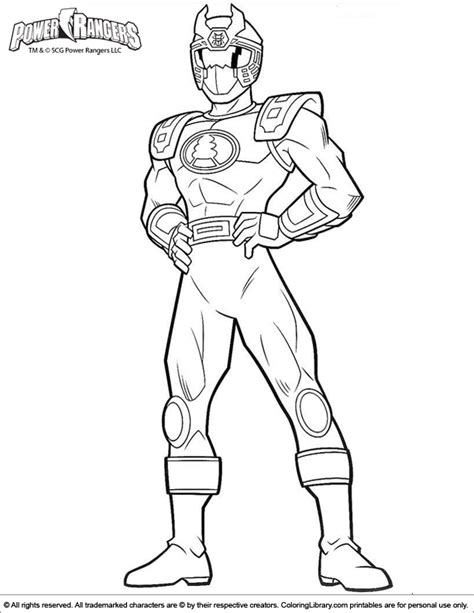 power rangers super megaforce coloring pages getcoloringpagescom