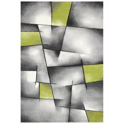 brillance tapis de salon  cm vert gris  noir