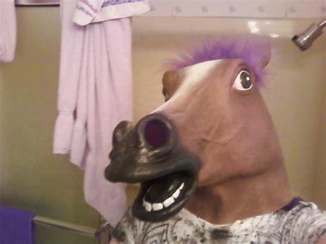 Horse Mask Meme - image 121809 horse head mask know your meme