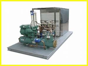 Containerized Plate Ice Machine in Sea Water System ...