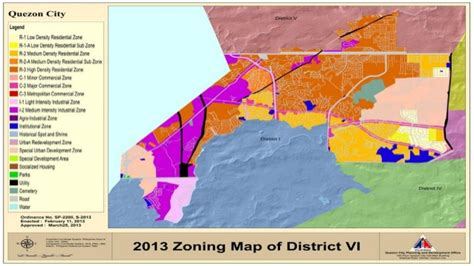 sinking borough zoning map zoning ordinance in quezon city