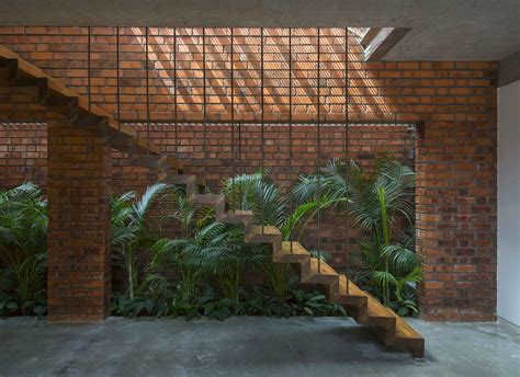 brick house  india  architecture paradigm livin spaces