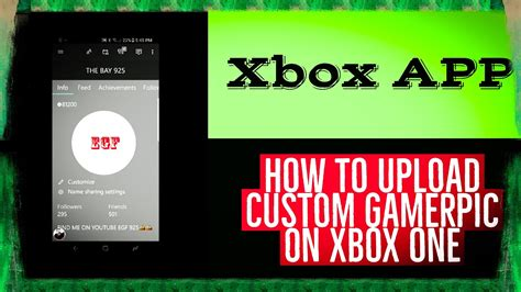 How To Upload A Custom Gamerpic On Xbox One With The Xbox