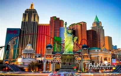 Vegas Las Nevada Wallpapers Desktop Strip Pc