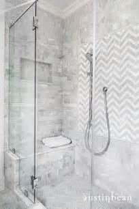 Small Grey Bathrooms by Austin Bean Design Studio Bathrooms Shower Tiles