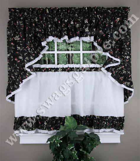 cherries curtains tiers swags valance ellis