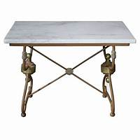 french pastry table French Marble Top Butcher/Pastry Table at 1stdibs