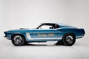 1969 FORD MUSTANG 428 CJ-R DRAG CAR - 210006