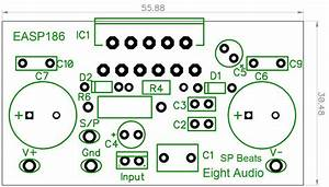 Eight Audio - Easp186 - Lm3886 68w Power Amp