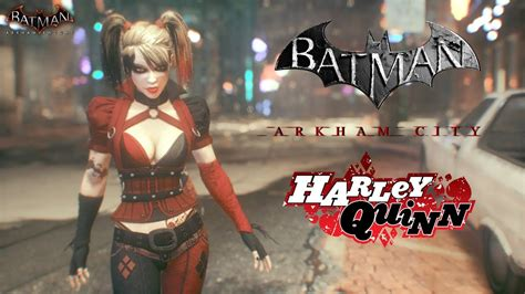 skin batman arkham knight arkham city harley quinn youtube