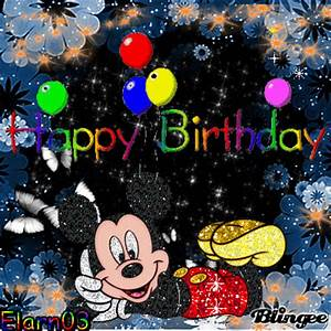 Happy Birthday Mickey Mouse : happy birthday mickey mouse picture 125106807 ~ Buech-reservation.com Haus und Dekorationen