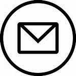 Circle Icon Email Mail Gmail Svg Clipart