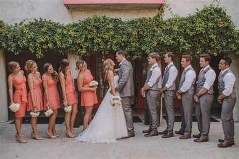 45 Grey And Coral Wedding Ideas 21st Bridal World