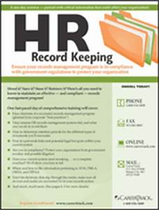 hr record keeping careertrack With hr record keeping documents