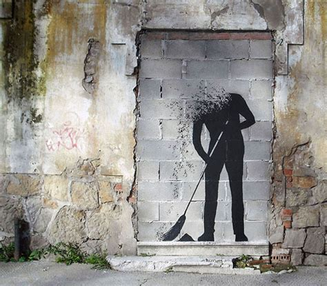 absolutely creative street art paintings  pejac