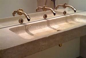 Vasque Salle De Bain En Pierre : bain ~ Teatrodelosmanantiales.com Idées de Décoration