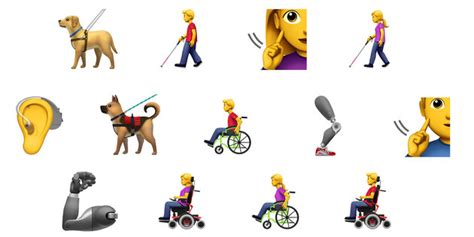 disabled people  finally  emojis  represent