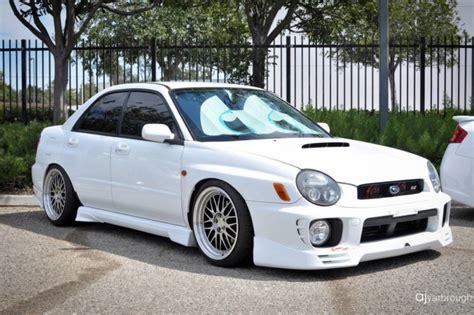subaru mean eye bugeye 02 03 wrx sti subaru aspen white other cool cars
