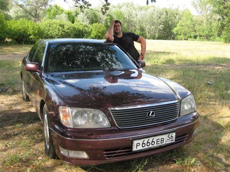 lexus ls400 1997 1997 lexus ls400 pictures 3969cc gasoline fr or rr