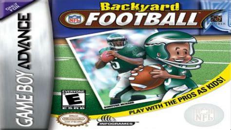 Backyard Football Gba by Backyard Basketball Gba Rom For Gba Gamulator