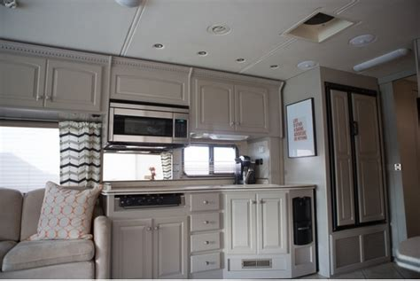 colorful rv makeover mobile home living