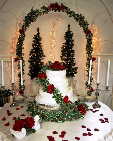 white christmas decorations  wedding decoration love