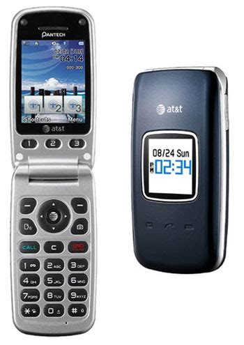 att flip phone cell phones at t cell phones pantech